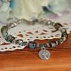 IN-155  Beatuiful Mary Medal Beaded Bracelet