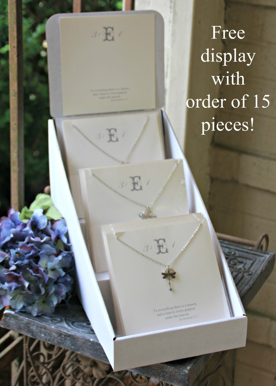 E31 Ecclesiastes Display Collection with 15 pre-selected Necklaces...a must for this Christmas Season!