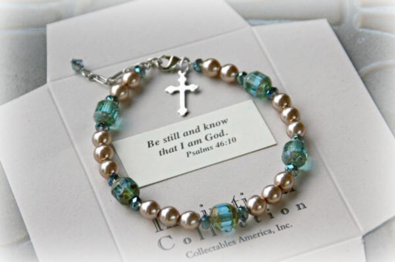IN-365 Be still and know Bracelet