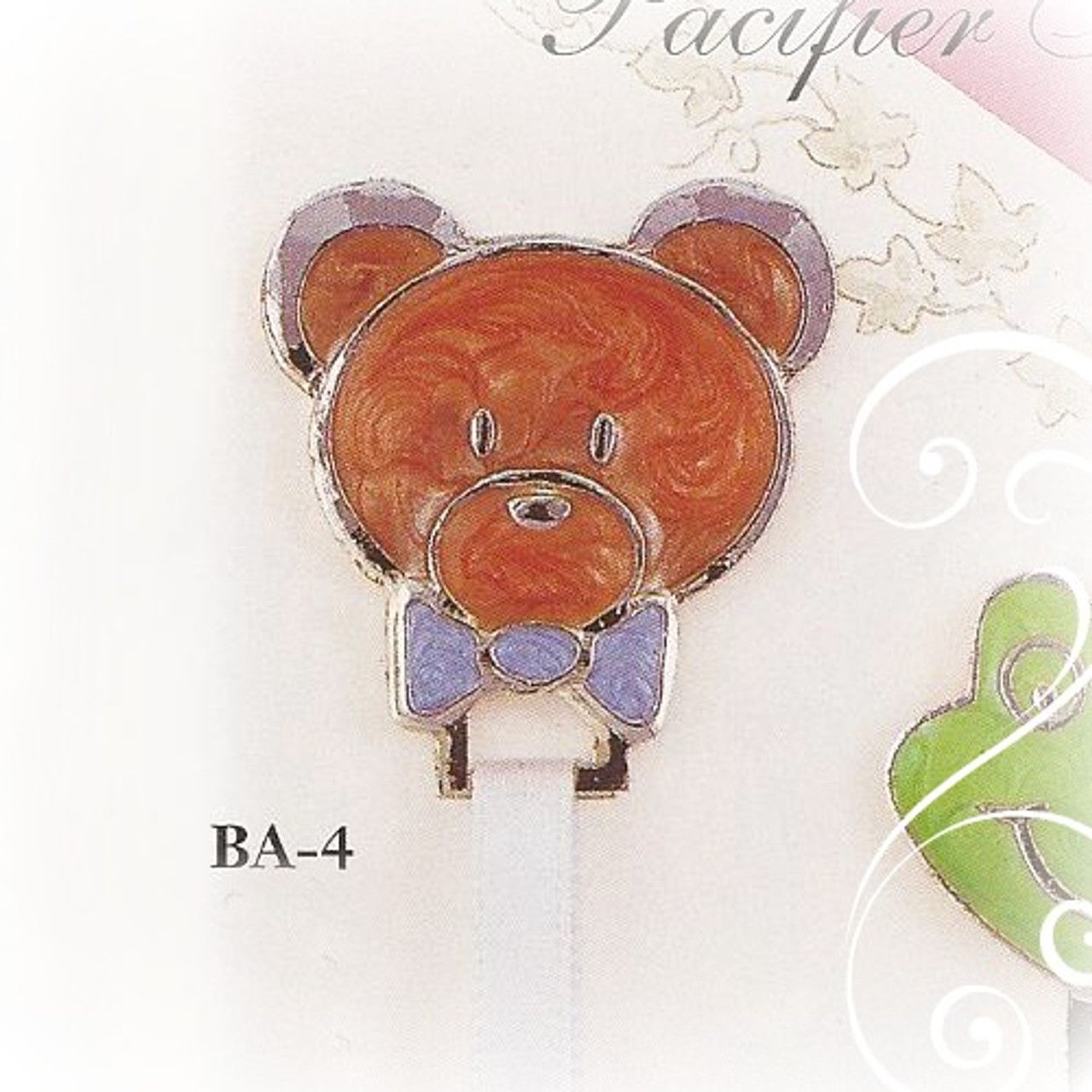 BA-4 Teddy Bear Paci Holder