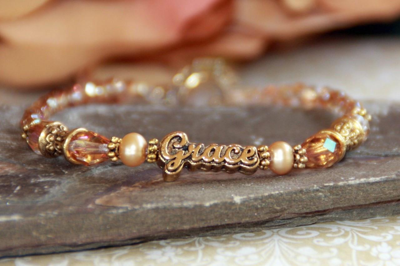 IN-325 Grace Bracelet gold tone