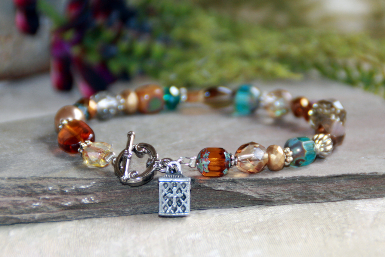IN-340 Prayer Box bracelet