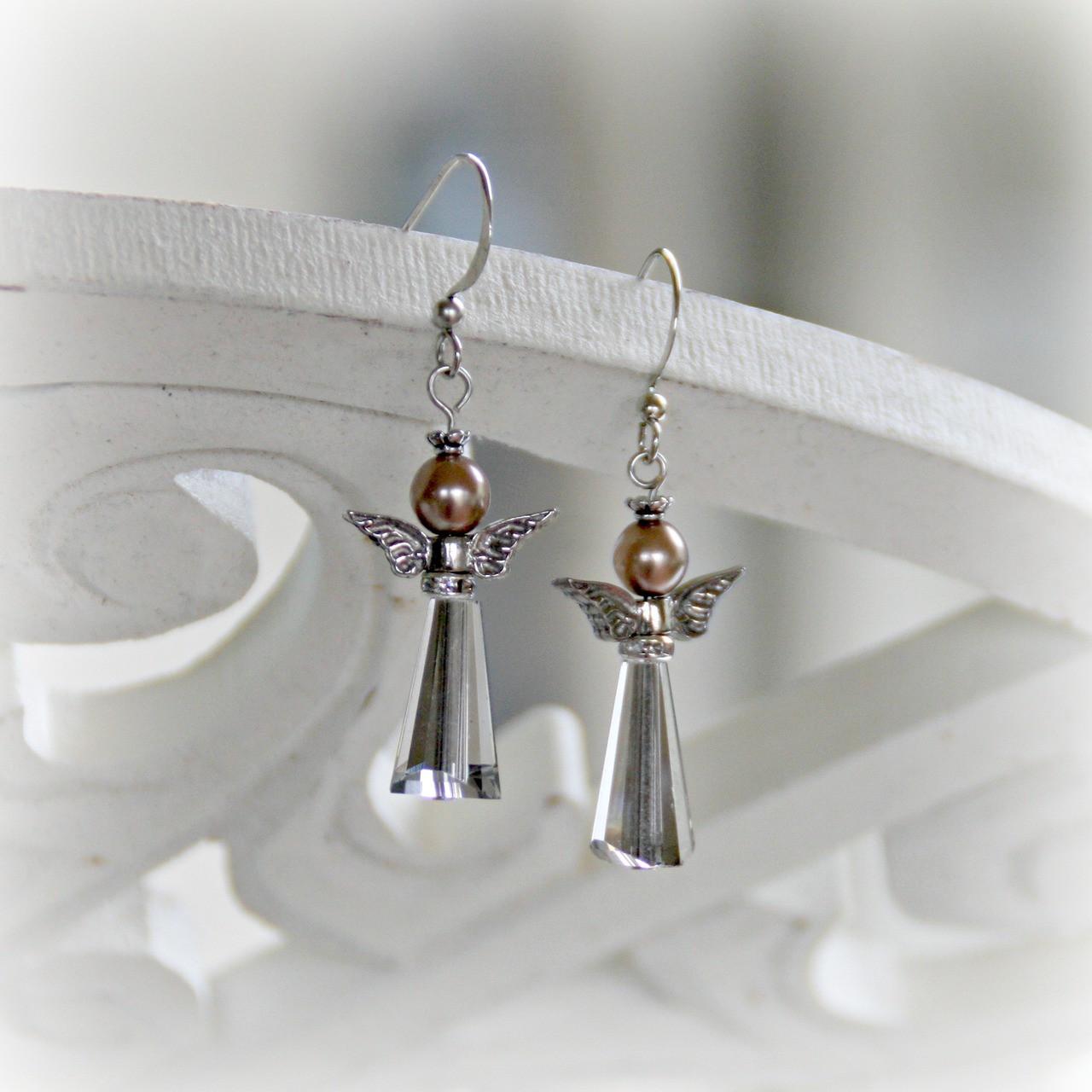 IN-31 Beautiful Angel Earrings