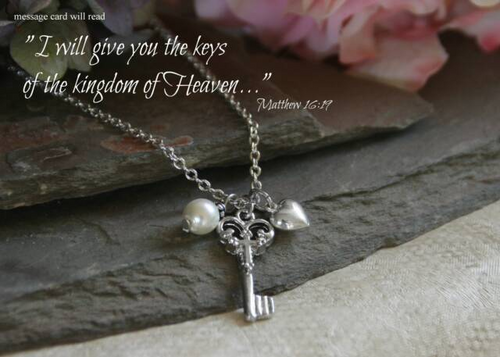 IN-408 Keys to Heaven Necklace