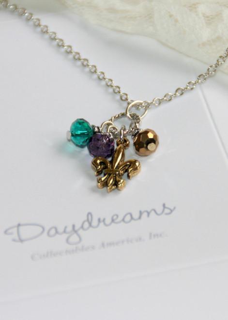 DD-17 Daydreams Collection Mardi Gras & Fleur de Lis