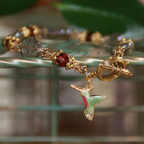 IS-38  Hummingbird Bracelet