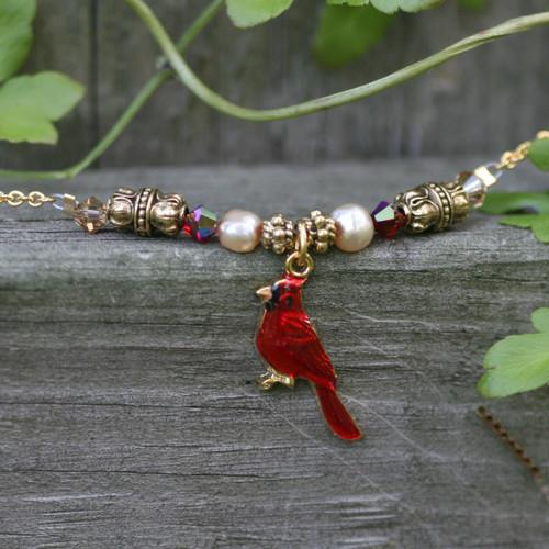 NCK-70  Cardinal Necklace