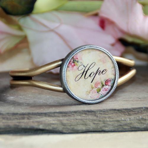 ART-128H Hope ART Collection Cuff Bracelet