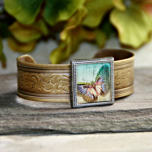 ART-130 Butterfly lots of  Color ART Collection Bracelet