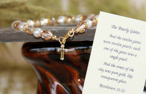 IN-336 The Pearly Gates bracelet