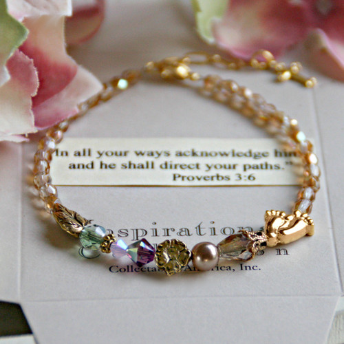 IN-126...and He shall direct your paths Bracelet