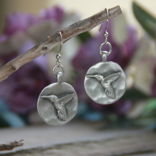 IS-133  Hummingbird Earrings