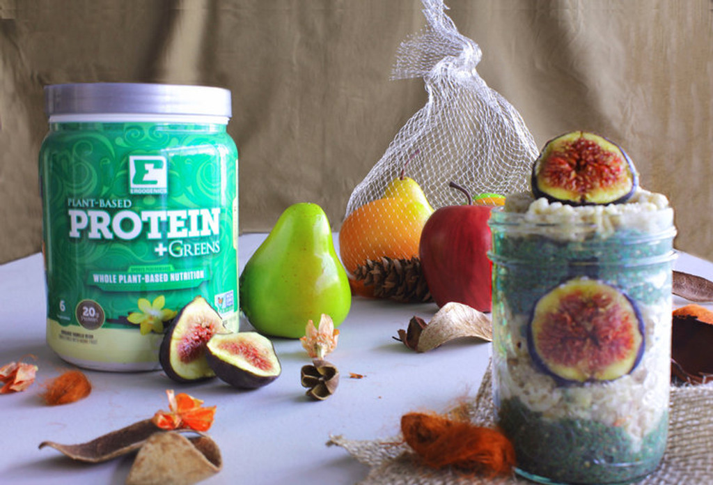 Fig Nana Breakfast Pudding