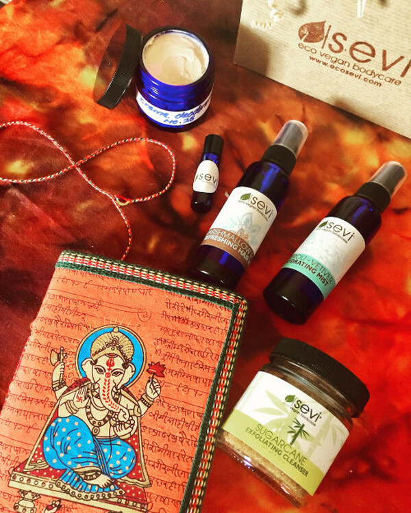 november 2016 sevi skincare apothecary box :: Indian Fig