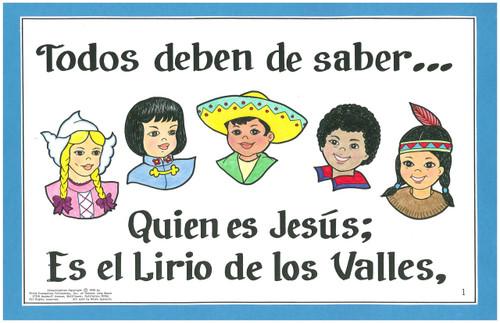Todos Deben De Saber (All the Children Ought To Know)