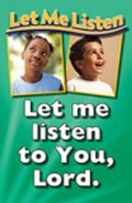 Let Me Listen