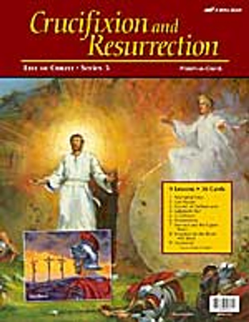 Jesus, Crucifixion and Resurrection (12x16)