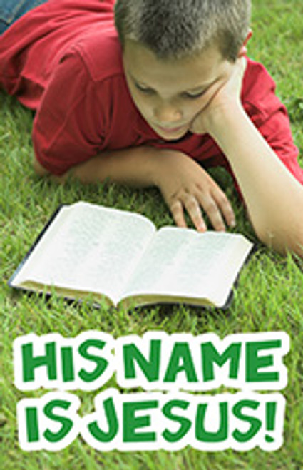 His name is Jesus