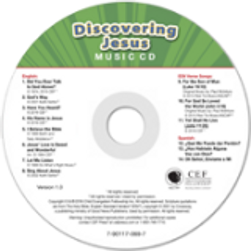 Discovering Jesus (music cd)
