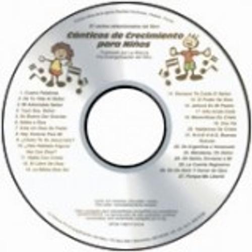 Canticos de Crecimiento para niños (music cd)