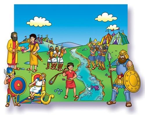 David and Goliath - Beginners Bible (Pre-cut)