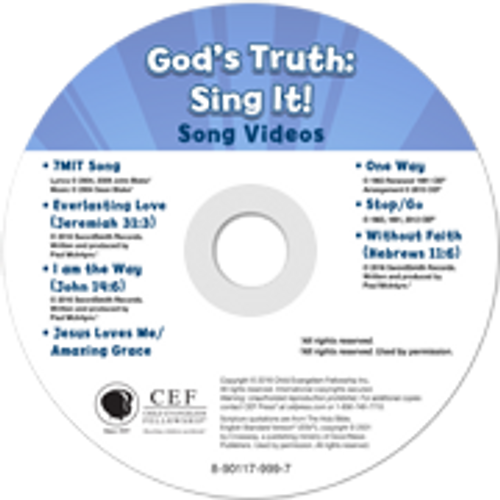 Gods Truth: Sing It! 1 Song Videos