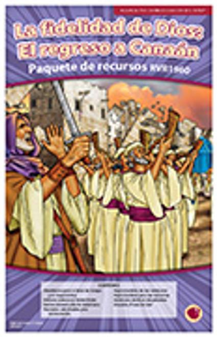 La fidelidad de Dios: El regreso a Canaan (paquete de recursos RVR 1960)