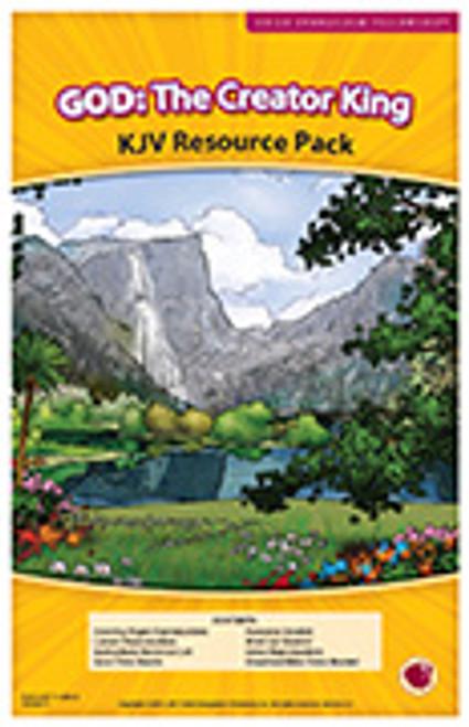 God: The Creator King (resource pack KJV) 2017