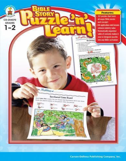 Bible Story Puzzle n Learn Grades 1-2