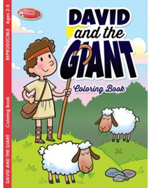 David and the Giant (coloring book)