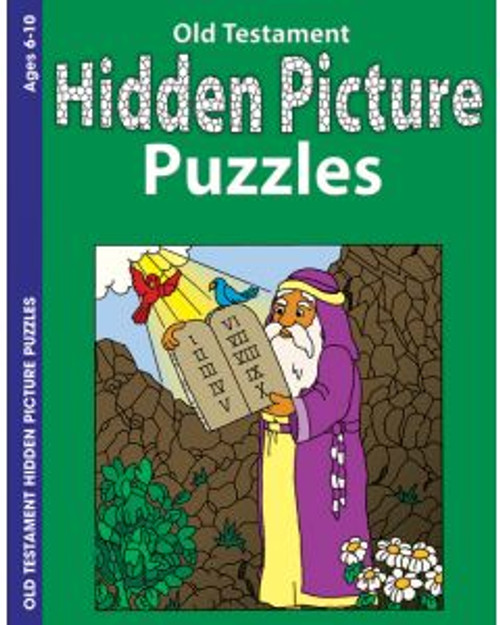 Hidden Pictures Old Testament (activity book)