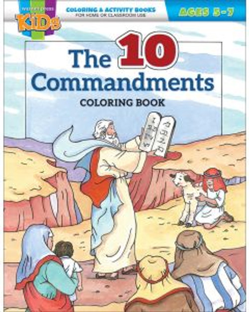 The 10 Commandments (activity book)