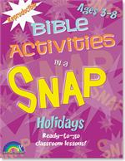 Bible Activities in a Snap Holidays