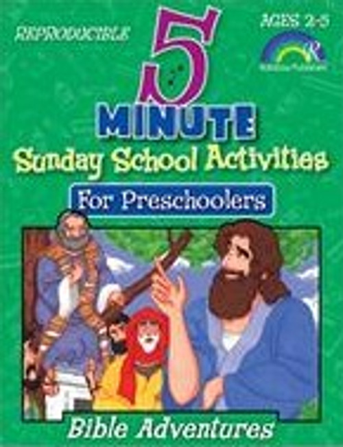 5 Minute Sunday School Activities for Preschoolers - Bible Adventures