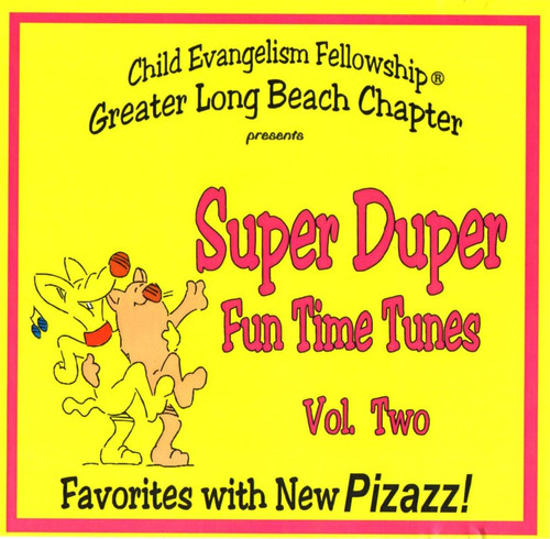 Super Duper Fun Time Tunes Vol. 2 (music cd)