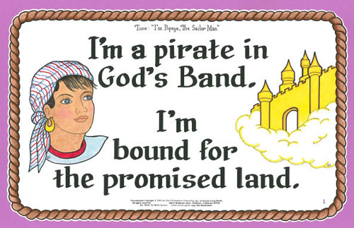 I'm A Pirate in God's Band