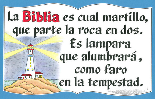 La Biblia Es Cual Martillo (Bible is Like a Hammer)