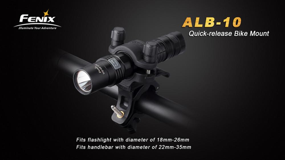 Fenix ALB-10 - Bike Flashlight Mount