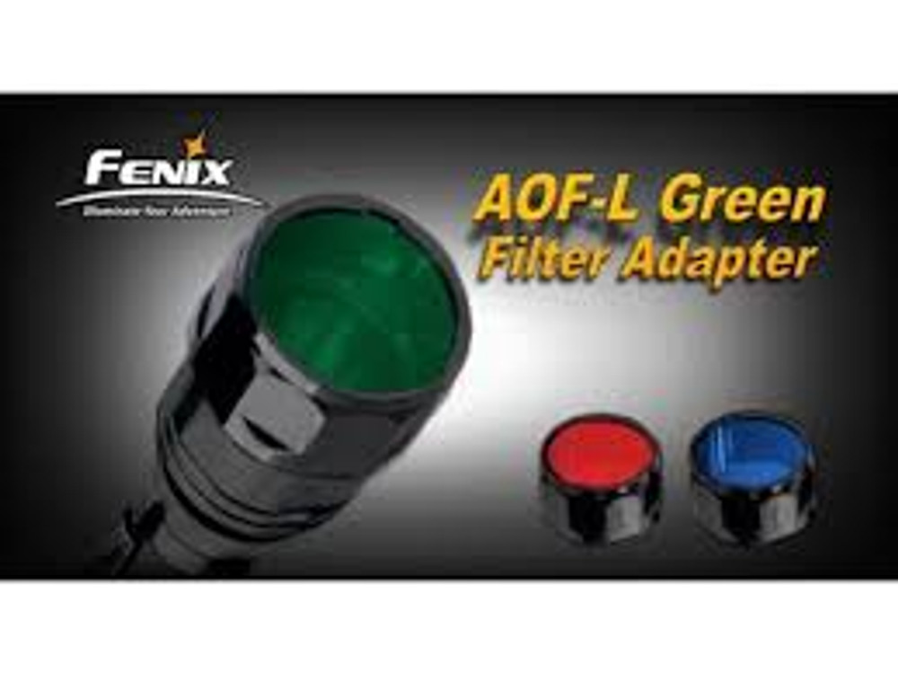 AOF-L Green Filter Adapter for TK22, LD41, RC15, E40, E50