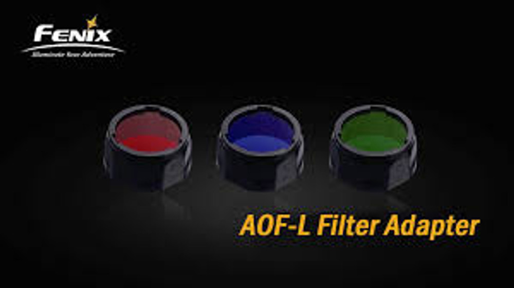 AOF-L Blue Filter Adapter for TK22, LD41, RC15, E40, E50