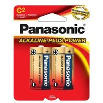 Panasonic Alkaline Plus C - AM2PA2B (2 pack)