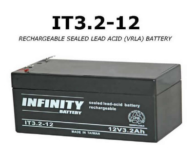 GS Infinity - IT 3.2-12 F1 - 12volt - 3.2Ah - F1