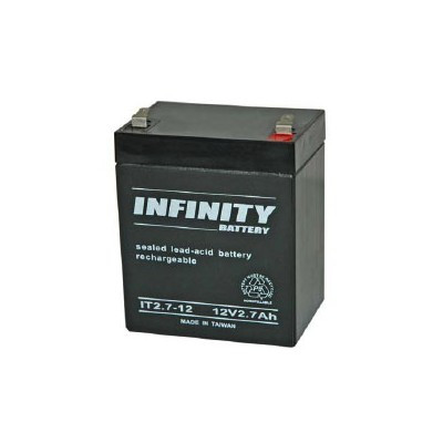 GS Infinity - IT2.7-12 F1 - 12volt - 2.7Ah - F1