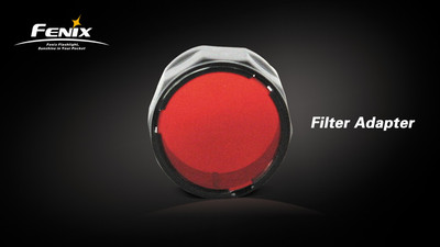 AOF-S Red Filter Adapter for LD10, LD20, LD12, LD22, PD22