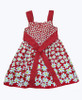 SOLD-Red Floral Sleeveless Dress