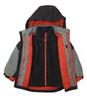 Boys Black Colorblock 3-ín-1 jacket