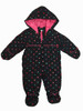 Polka Dots Baby Girls Snowsuit