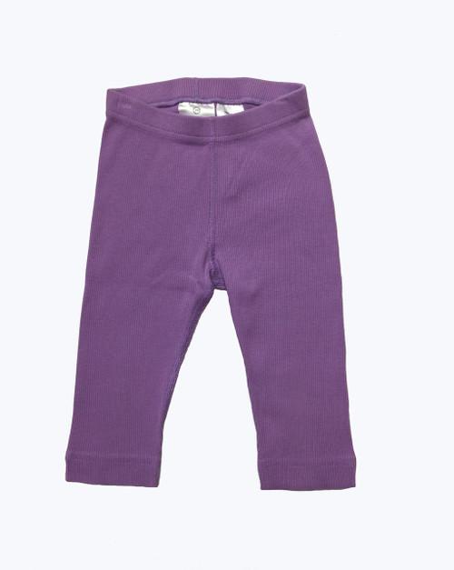 Hanna Andersson toddler girl lilac leggings