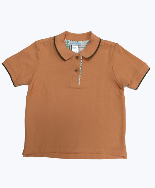 SOLD - Tipped Pique Polo Shirt