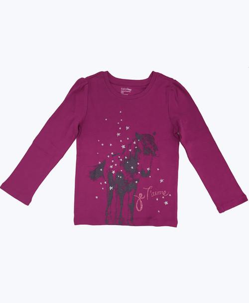 SOLD - Glitter Graphic Shirt